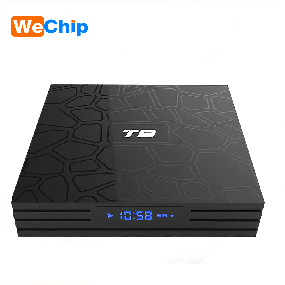 T9 Smart Android 8.1 Rockchip RK3328 RAM 4GB ROM 32GB 1080P H.265 4K TV Box 2.4G WIFI Bluetooth 4.0 Set-Top Box Support IPTV Box vontar tx28 android 7 1 tv box 4gb ram 32gb rom rockchip rk3328 quad core 100m lan 2 4g 5ghz wifi bluetooth 4 1 iptv smart tanix
