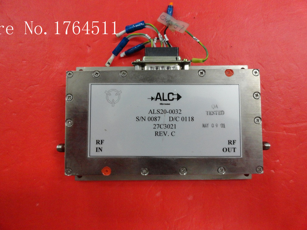 [BELLA] ALC ALS20-0032 2-18GHZ SMA Supply Amplifier