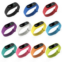 10pcs/lot Replacement Smart Band For Xiaomi Mi Band 2 Bracelet Miband 2 Colorful Strap Wristband Accessories For Mi Band 2  цена 2017