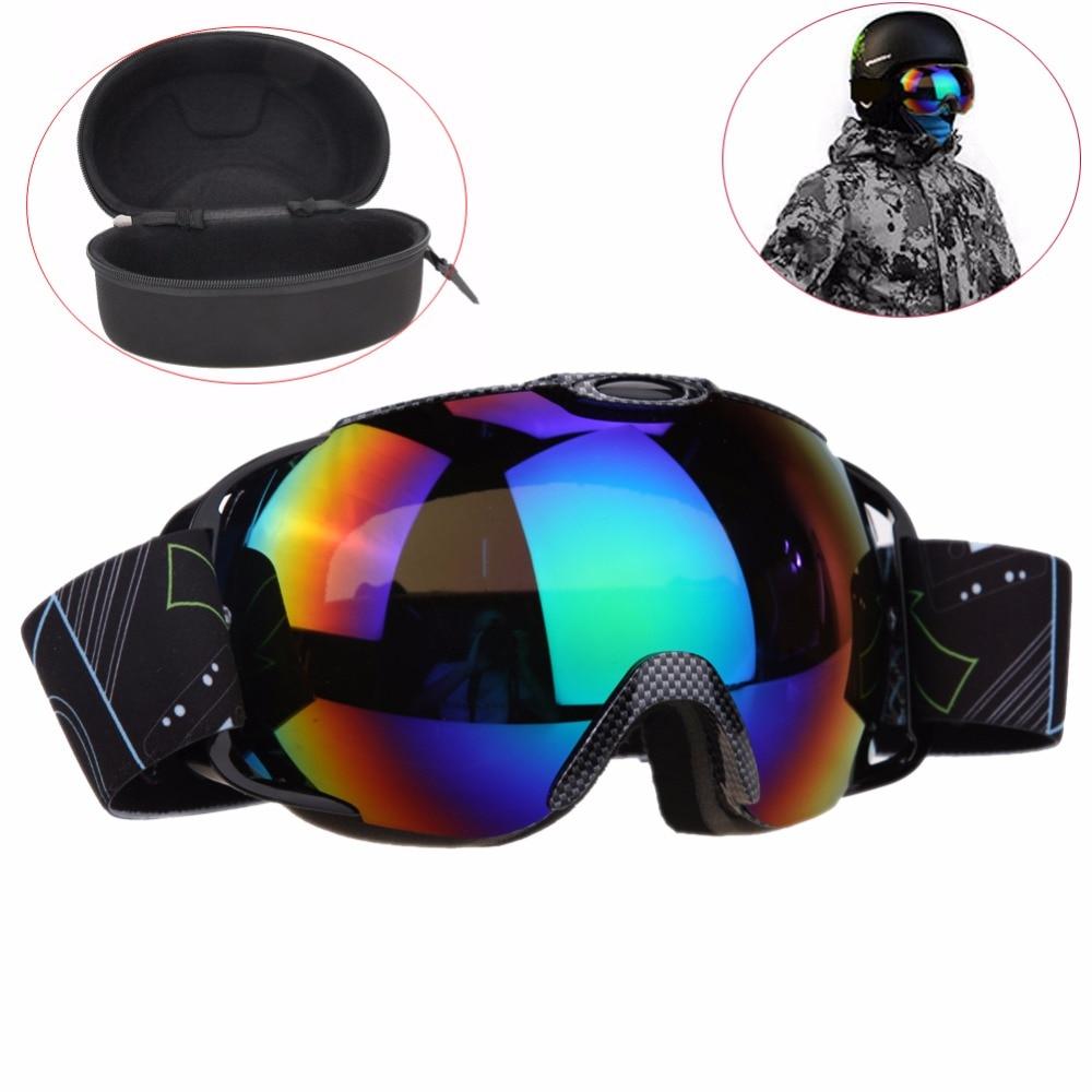 UV400 nagy sí snowboard maszk szemüveg síszemüveg köd elleni kültéri sí snowboard szemüveg téli jég hó síelés szemüveg