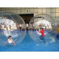 Пузырьковый шар ходьба воды, бассейн прокатки водяной цилиндр, прогулки массажные щарики, импорт Аква катающиеся шарики для детей и взрослы