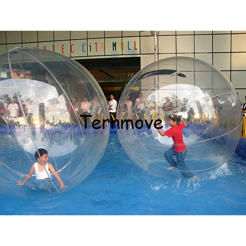 bubble ball walk water,swimming pool rolling water roller ball ...