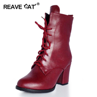 Big Size 32 48 New Arrival Autumn Winter Fashion Botas Ladies Woman Ankle Bootie High Heels