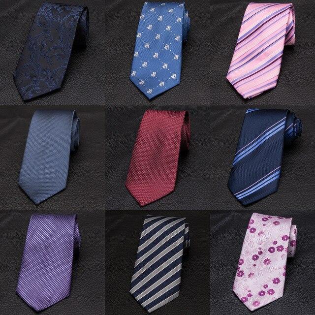 c9c4b873dde7b XGVOKH Marque Cravates cravattes striées Pour Hommes 8 cm Largeur Classique  Mens robe Cravates D'