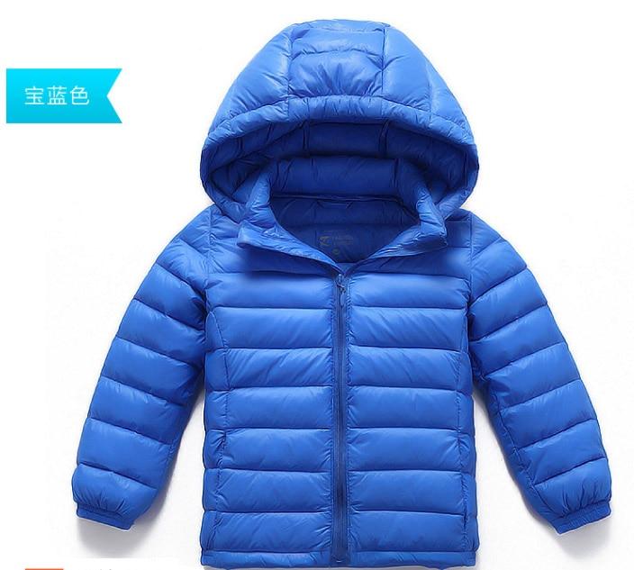 Winter Jacket Kids Down Jacket For Boy Baby Clothes Winter Down Coat Warm Baby Snowsuit Children Girl Hooded Short Coat