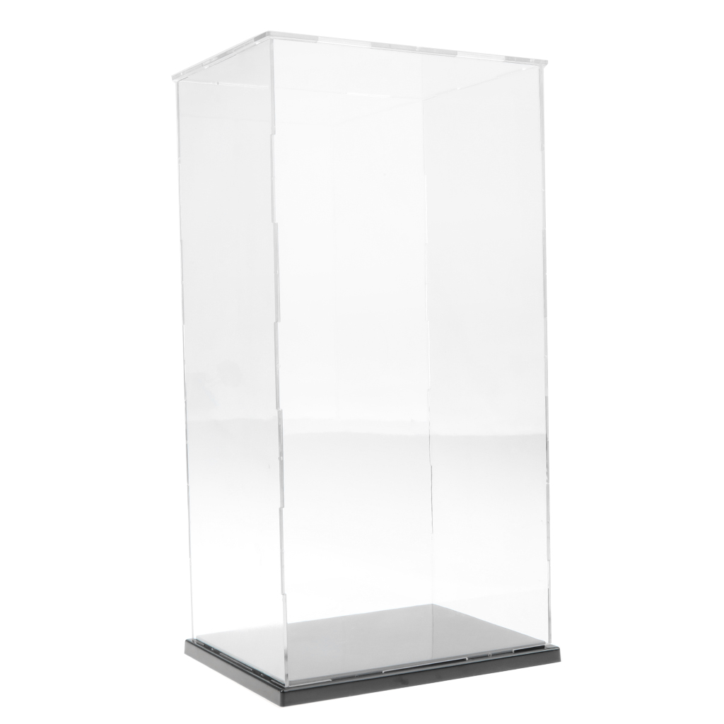 19x15x37cm Figures Model Transparent Display Show Case Small Acrylic Box Doll Model Display Box