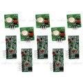 433 Mhz Transmissor RF e Kit de Ligação Receptor para Arduino/Arm/McU 5 pçs/lote