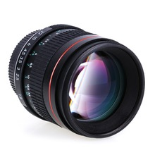 85mm prime Portrait Lenses Manual F1.8 Aperture Camera