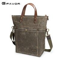 Vintage Canvas Handbag Men Large Capacity Shoulder Messenger Bags Male Computer Bag Fashion Waterproof Travel Crossbody