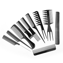 Hair Brush Comb Salon Barber Anti-static Hair Combs Hairbrush Hairdressing Combs Styling Tools Hair Care Professional new 335 aluminum comb anti static hair cut 339 comb professional barber hair brush hairdressing tools