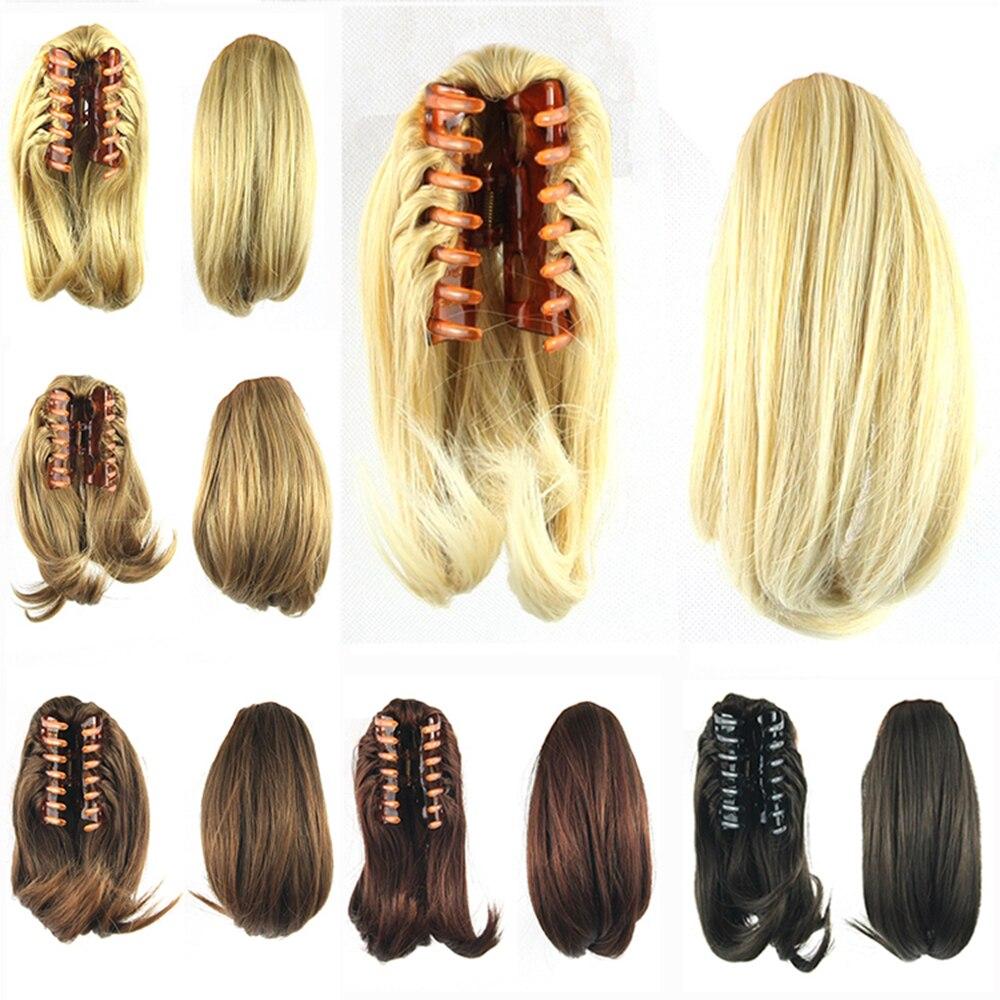 Накладные волосы Soowee, конский хвостик с клипсой, Синтетический Коготь, накладные волосы хвостиком, шиньоны, головные уборы для женщин, искусственные волосы Женские|Синтетические хвостики|   | АлиЭкспресс