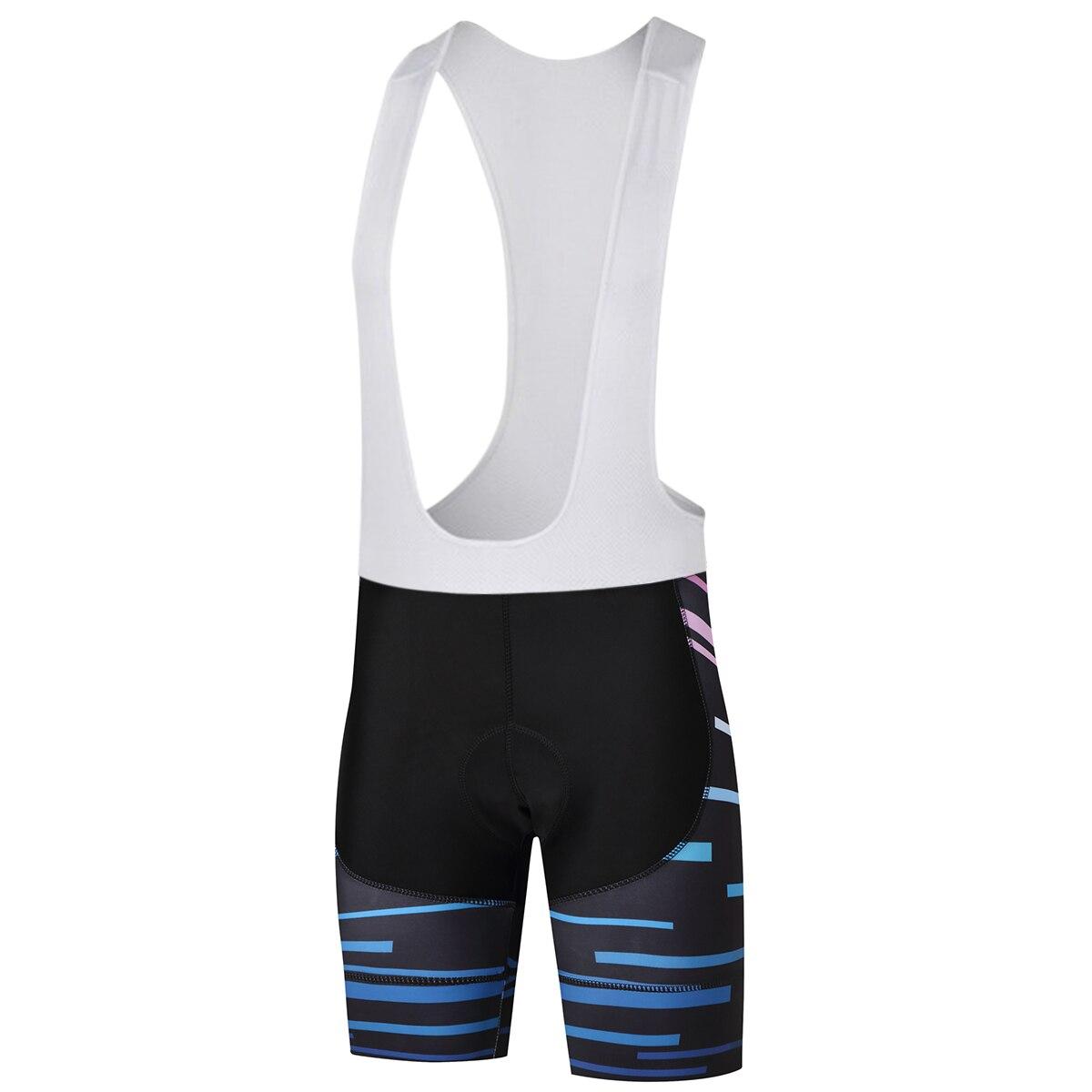 New 2018 Fast drying Men's Cycling bib Shorts 9D Gel Pad Summer Team Bicycle Bib Shorts Cycling Shorts Breathable