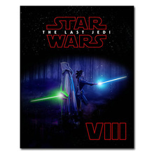 Star Wars The Last Jedi Art Silk Poster