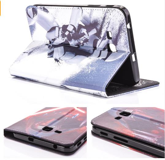 Case for Samsung Galaxy Tab E 9.6 / T560 / T561 Star Wars The force awakens tablet PU leather Cover flip stand coque housing 2017 new products luxury 360 rotating flip leather stand cover tablet case for samsung galaxy tab e 9 6 t560 t561 case stylus