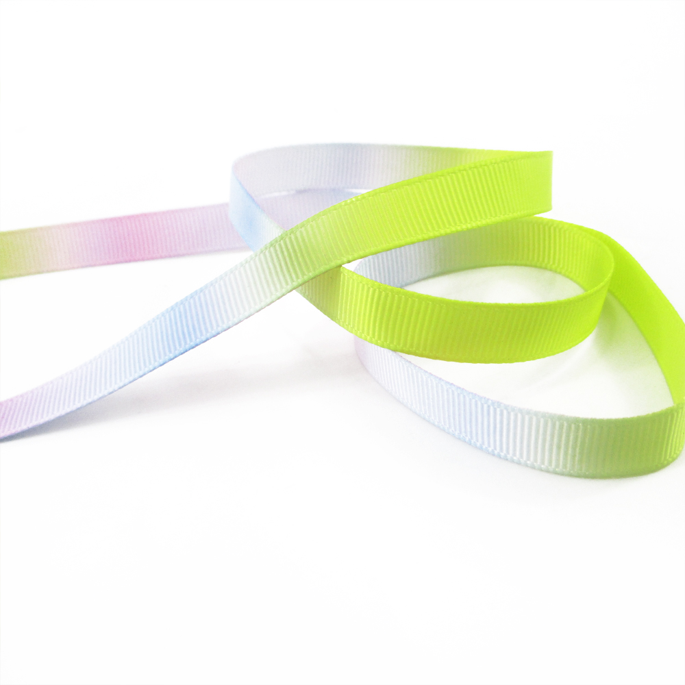 """Gros-grain pastel coloré arc-en-chevron ribbon 7//8/""""/"""" 22mm"""