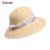 Nuevo Verano 2016 de Las Señoras de Las Mujeres Sombreros De Paja de Ala Ancha Dom sombreros de Protección UV Casual Grandes Sombreros de Playa Praia Chapeu Sombrero Sólido