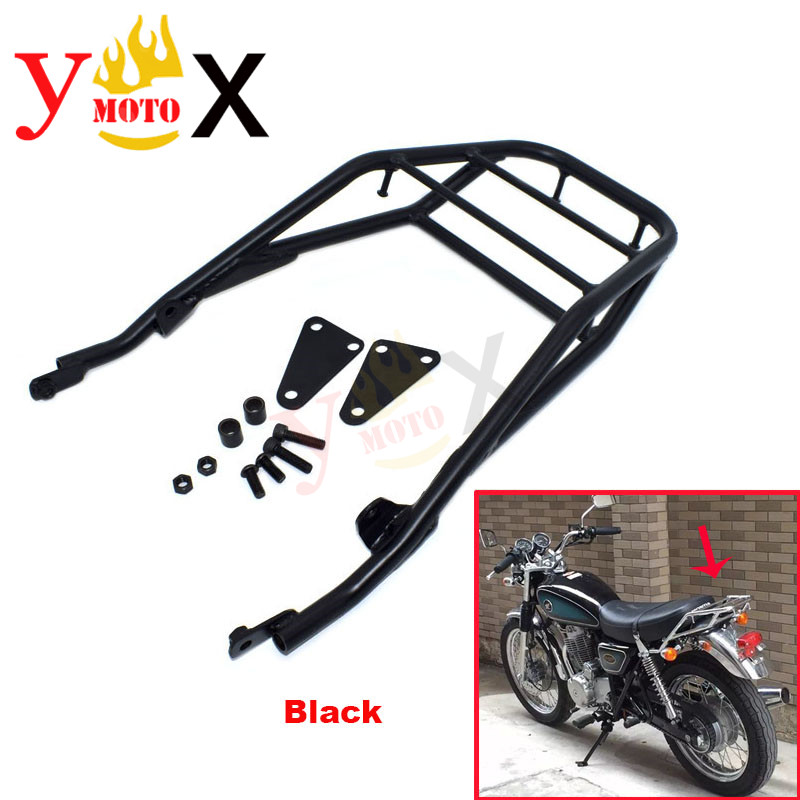 CB400SS CL400 Motorcycle Tail Luggage Rack Rear Cargo Support Holder For <font><b>HONDA</b></font> CB 400SS <font><b>CL</b></font> <font><b>400</b></font> CB400 NC41 2002-2006 2003 2004 05 image