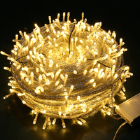 Thrisdar 50M 100M Christmas LED String Fairy Holiday Light 800 LED Outdoor Garden Patio Wedding Party Fairy light String Garland
