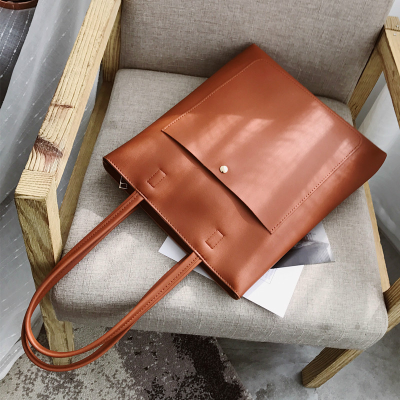 Large Capacity Casual Tote Bags 2018 PU Leather Women Handbags High Quality Multi-Functional Lady Retro Bag Mochila BolsasLarge Capacity Casual Tote Bags 2018 PU Leather Women Handbags High Quality Multi-Functional Lady Retro Bag Mochila Bolsas