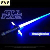 Sword Light Saber Retractable Toy Star Wars Lightsaber Kids Favorite Star Wars Lightsaber PVC Gift Display
