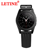 LETINE GS3 Smart Watch Heart Rate Monitor relogio Clock Fitness Tracker Smart Electronics Smart Wacht for IOS android