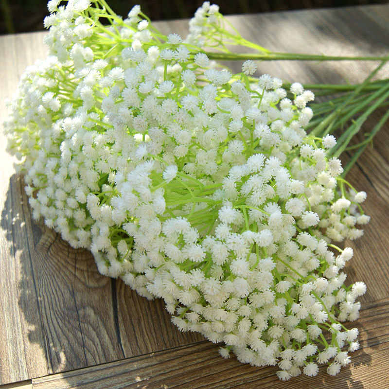 1PCS Rustic Decoration Artificial Flower Decoration Flower Plastic Flower for Wedding Home Decorative