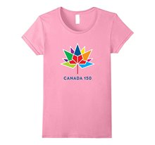 Official Licensed Canada 150th Anniversary T-Shirt Women Slim Fit Sexy Cotton T Shirts Brand Korean Funny Hiphop(China)
