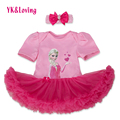Baby Girl Rompers 2pcs Sets Tutu Romper Dress/Jumpersuit headband Elsa Anna Party Birthday Chirstmans Clothing Suit for 0-2years