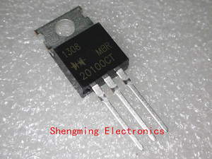 10pcs MBR20100CT MBR20100 Diodes Rectifier 100V 20A TO-220
