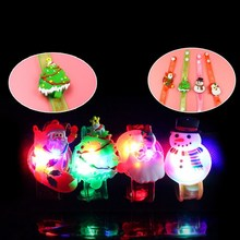 Creative Cartoon LED Watch flash Wrist bracelet light small gifts children toys wholesale stall selling goods