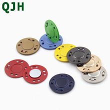 1pcs 20mm hidden metal magnetic button magnet fastener DIY hand sewing round coat pocket clothing accessories