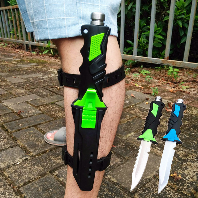 Professional Diving Knives with Leggings Belts