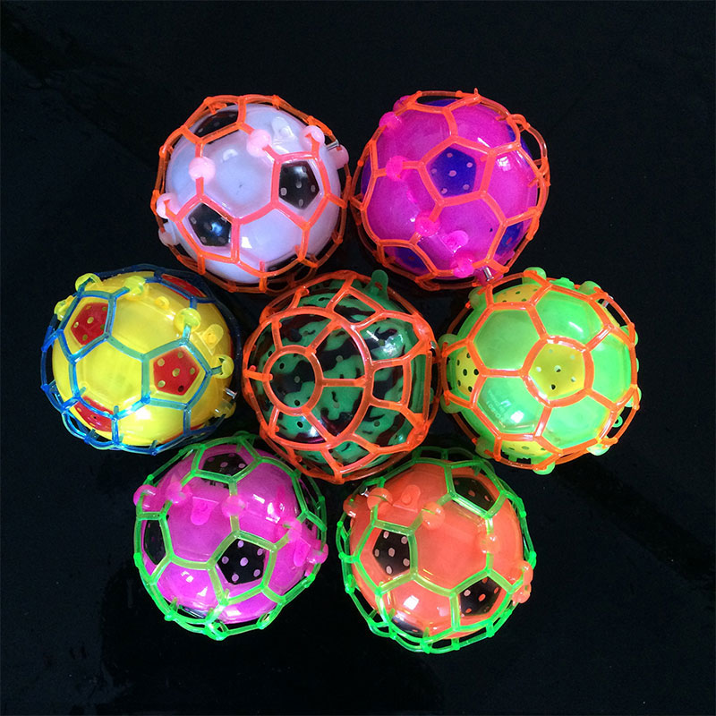 Jumping Ball Flashing Music Function Kids Fun Outdoor Toys Garden Gift