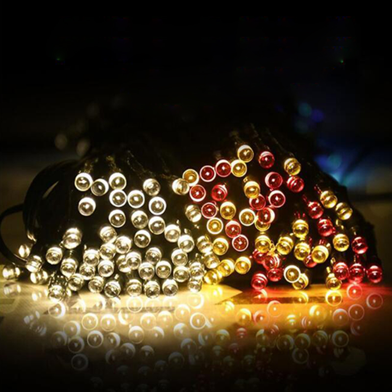 Solar Led Lamp LED Outdoor Solar Lamps LED String Lights Fairy Holiday Christmas Party Garlands Solar Garden Waterproof Lights 50 100 200 led outdoor solar lamps led string lights fairy holiday christmas party garlands solar garden waterproof lights