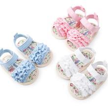 0-18M Newborn Baby flower style Summer baby Shoes