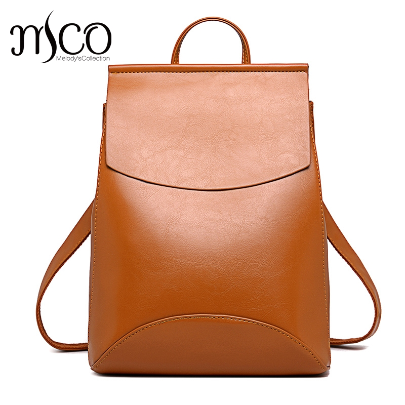 Aliexpress.com   Buy Fashion Women Backpack High Quality Youth Leather  Backpacks for Teenage Girls Female School Student Shoulder Bag Bagpack  mochila from ... 130995751465d