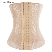 Waist Trainer Sexy Corsets and Bustiers Waist Cincher Corset Tops Sexy Lace Shapewear Slimming Belt Shaper Modeling Strap Girdle