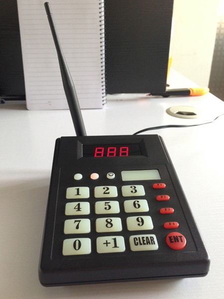 1 teclado 5 reloj muñeca 35 botones restaurante sistema de pedido cocina llamada camarero