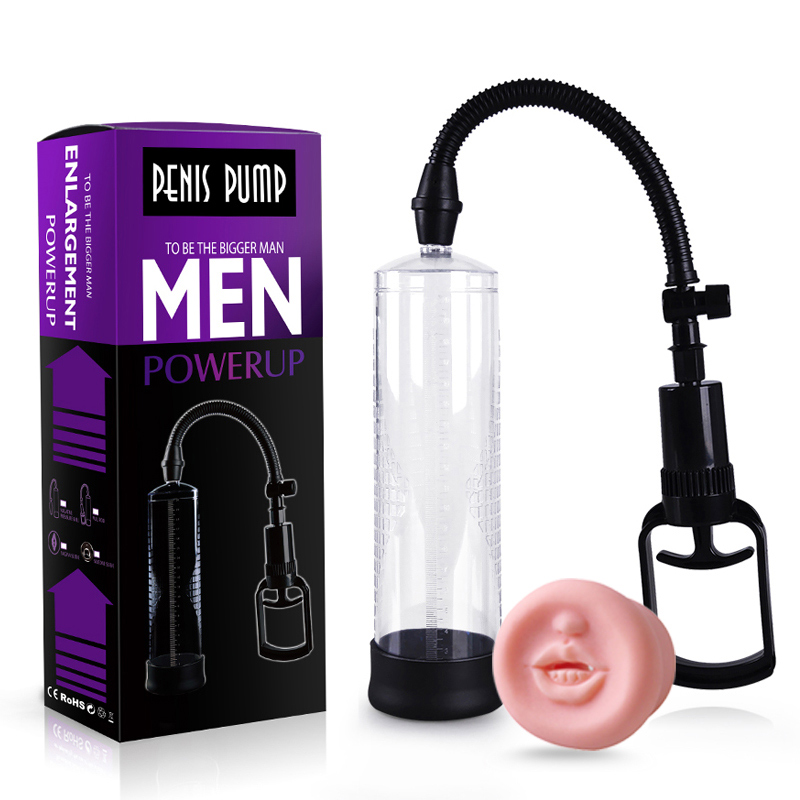 Male Powerful Penis Enlargement Extension Machine Penis Massager Male Vacuum Penis Pump Erotic Sex Toys For Adult Sex Products