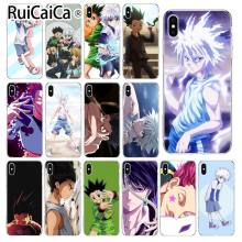 Ruicaica Anime HUNTER HUNTER Suave Silicone TPU Telefone Capa para iPhone 5 5Sx 6 7 7 plus 8 8 Plus X XS MAX XR(China)