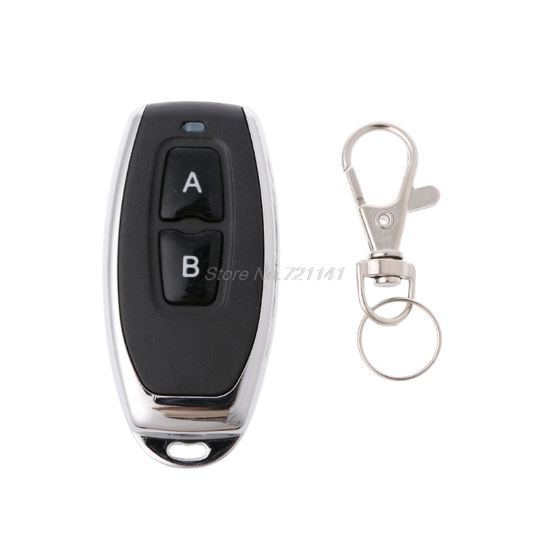 RF 433Mhz Remote Control 1527 Learning Code For Garage Door Gate Controller Alarm