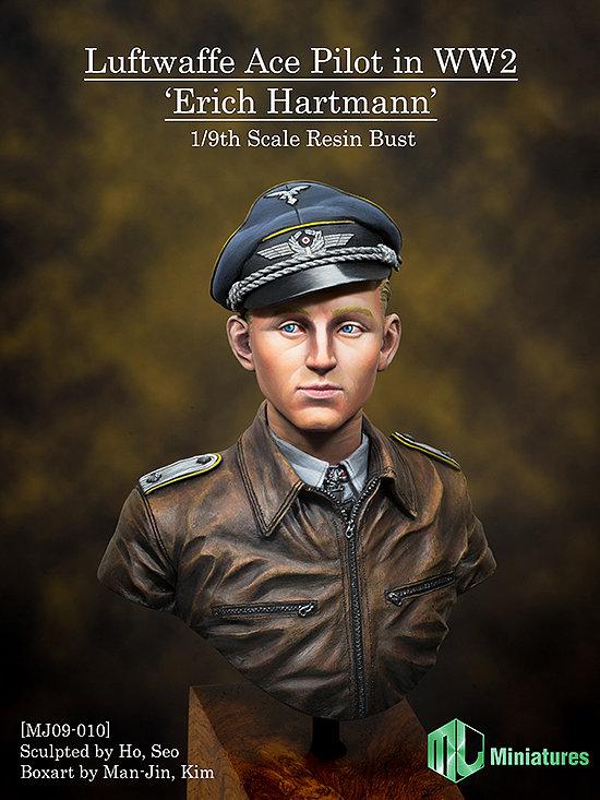 X-122 World War II Air Force ace pilot, Erich Hartman the world war ii memorial