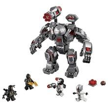 New Superheroes Avengers 4 War Machine Buster Compatible LegoINGlys Marvel Avengers Endgame Figures Building Blocks 76124