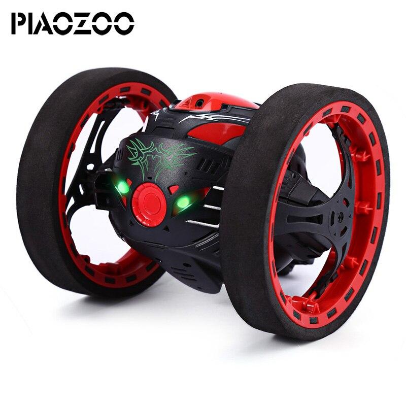 Mini RC Car toys wireless remote control 2.4GHz Bounce Car Flexible Wheels Rotation LED Light shockproof Car Toys for boys P20