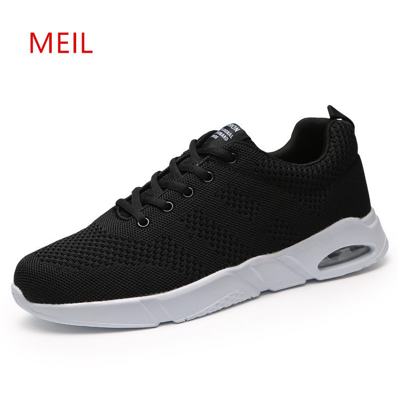 Casual Mesh Breathable Flat Shoes Man for Summer 2018 Designer Sneakers Men Footwear Mens Casual Shoes Hot Sale Mens Trainers