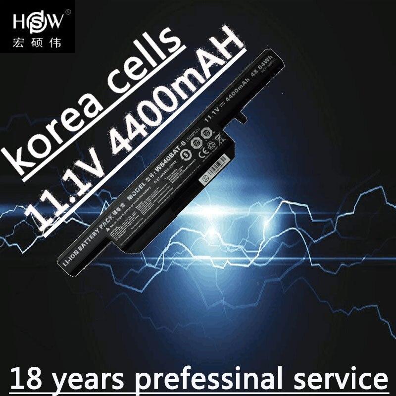 Bateria Para Clevo HSW W155u W540eu W54eu W550 W550eu W55eu W540 W540bat-6 Licr19/66-2 6-87-w540s-4w41 bateria