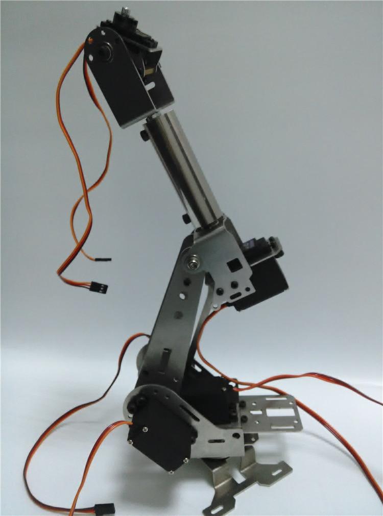 Wenhsin Hello Maker H675 ABB Industrial Robot Mechanical Arm 100% Alloy Six degrees of freedom Robot Arm Rack with 6 Servos полюс abb 1sca105461r1001