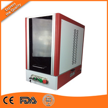 Safe Laser, Protective Window 30W Fiber Laser Marker Machine with Embedded Computer and Original Software in USA