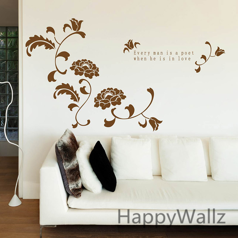 Wall Decors online buy wholesale floral wall decorations from china floral