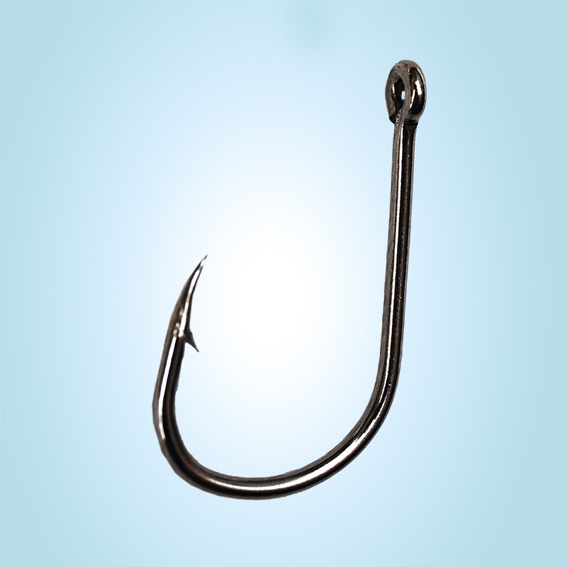 Fishing Hooks With Hole Barbed High Carbon Steels 1000 Pcs//Lot Fish Gear Tackles